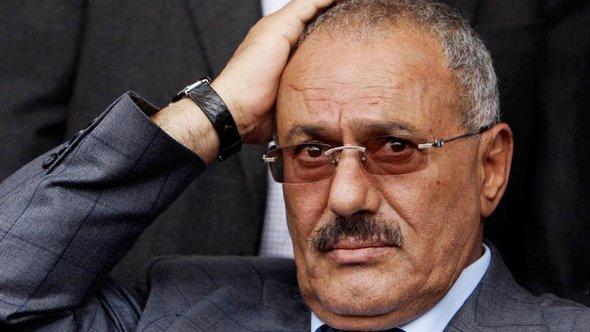 Jemens Ex-Präsident Ali Abdullah Saleh; Foto: AP Photo/Muhammad Muheisen