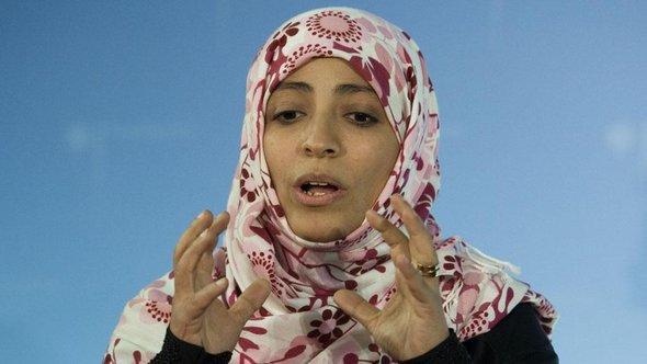 Tawakkul Karman; Foto: dapd