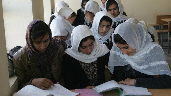 Mädchenschule im afghanischen Herat; Foto: DW