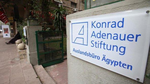 Vertretung der Konrad-Adenauer-Stiftung in Kairo; Foto: dpa/picture-alliance