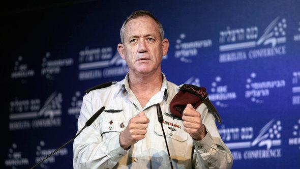 Benny Gantz, Generalstabschef Israels; Foto: AP
