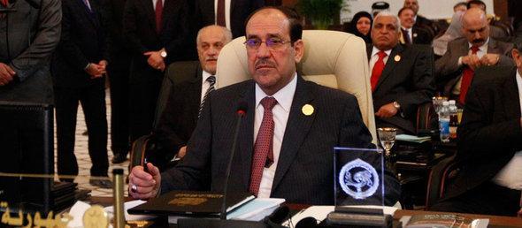 Der irakische Ministerpräsident Nuri al-Maliki, Foto: Reuters/Saad Shalash