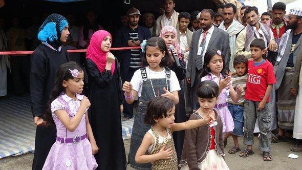 Jeminitische Kinder in Sanaa; Foto: Saeed Alsoofi /DW