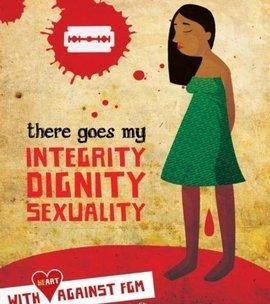 Logo einer Kampagne gegen FGM