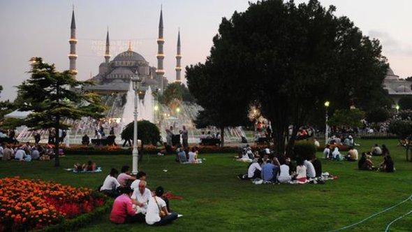 Die blaue Moschee in Istanbul; Foto: Getty Images