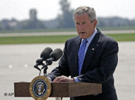 Der frühere US-Präsident George W. Bush; Foto: AP