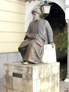 Maimonides-Statue in Córdoba; Foto: wikipedia