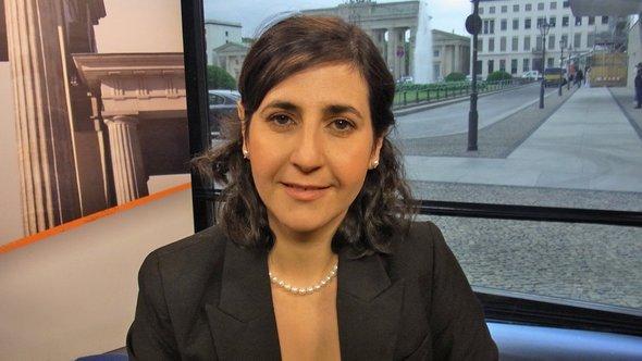 Wirtschaftswissenschaftlerin Salam Said; Foto: DW/Quadriga