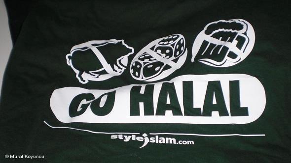'Go Halal': Kreation des Labels Styleislam; Foto: Murat Koyuncu
