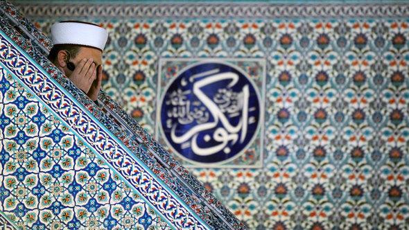 Imam betet in einer Moschee in Sofia; Foto: NIKOLAY DOYCHINOV/AFP/Getty Images