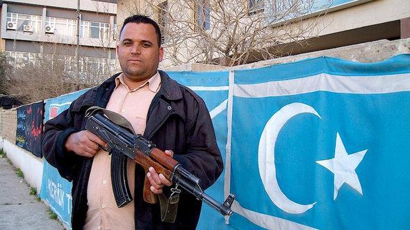 Anhänger der Turkmenenfront des Irak; Foto: DW/K. Zurutuza