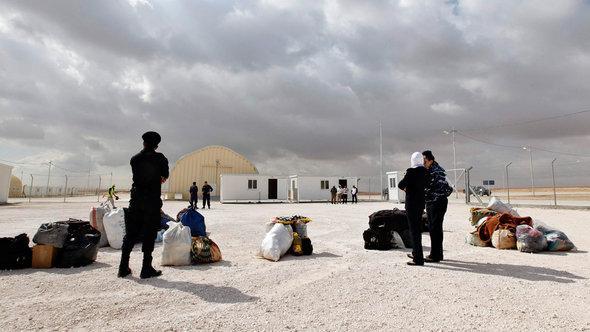 Lager für syrische Flüchtlinge in Jordanien; Foto: Reuters