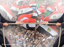 Symbolbild Machtkampf in Ägypten (Foto: shoot4u/Fotolia.com/DW)