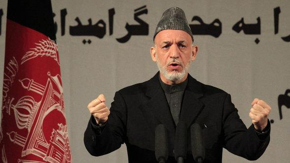 Afghanistan's President Hamid Karzai (photo: Reuters)