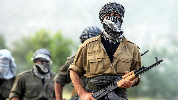 PKK-Kämpfer im Nordirak; Foto: AFP/Getty Images