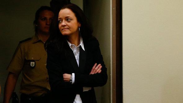 Beate Zschäpe, Hauptangeklagte im NSU-Prozess; Foto: Reuters