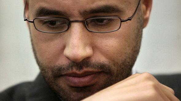 Seif al-Islam al-Gaddafi ; Foto: dapd