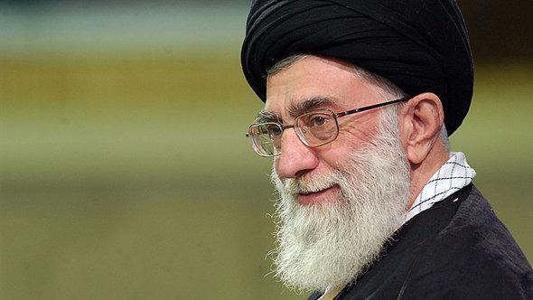 Irans Revolutionsführer Ali Khamenei; Foto: momtaznews