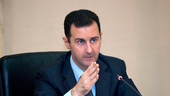 Syriens Präsiedent Baschar al-Assad; Foto: dpa/picture-alliance