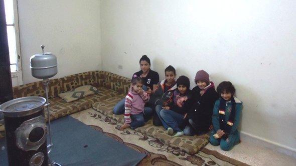 Syrische Flüchtlingskinder in Barilias in der Bekaa-Ebene; Foto: DW/Moammar Atwi