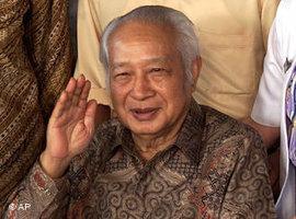 Indonesiens-Ex-Diktator Suharto; Foto: AP