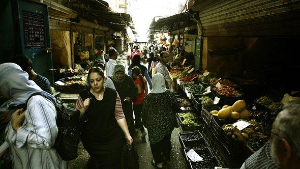 An old market in the ancient coastal city of Tripoli north of Beirut (photo: Getty)
