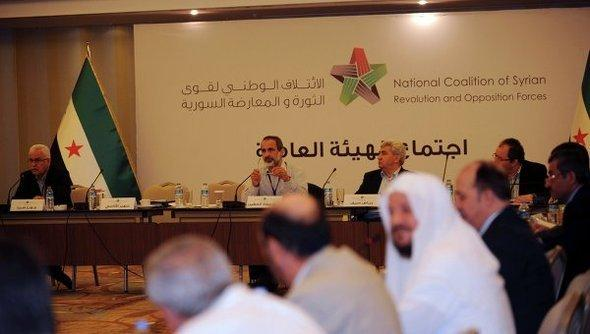 Meeting of the Syrian National Coalition in Istanbul (photo: Reuters)