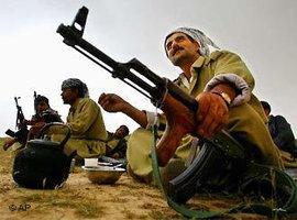 Kämpfer der Peschmerga in Irakisch-Kurdistan; Foto: AP