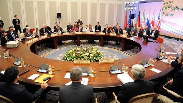 Iran-Atomgespräche in Kasachstan; Foto: Reuters