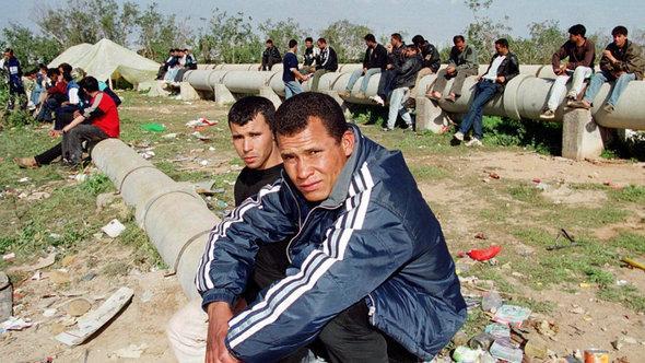Marokkanische Gastarbeiter, Foto: picture-alliance/dpa
