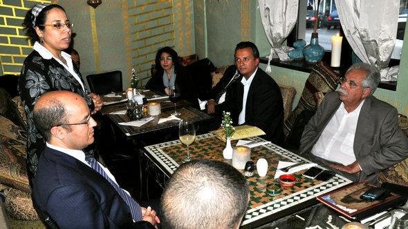 Frau Dr. Soraya Moket, Vorsitzende des Deutsch-Marokkanischen Kompetnznetzwerks, Foto: DW