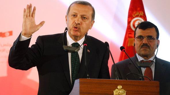 Der türksiche Ministerpräsident Erdoğan; Foto: Reuters