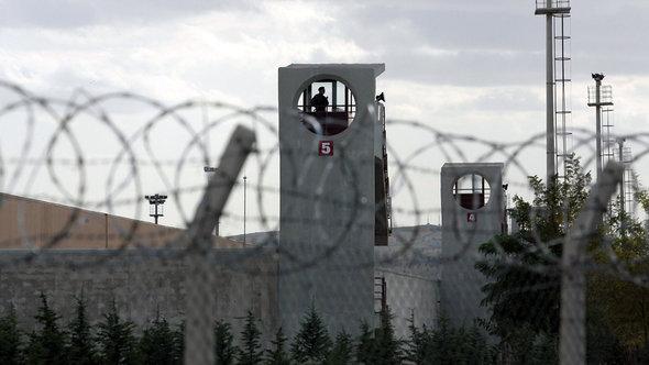 Hochsicherheitsgefängnis Sincan bei Ankara; Foto: Adem Altan/AFP/Getty Images