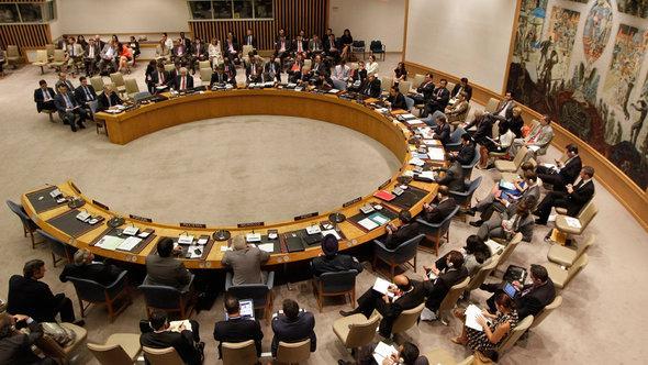 Sitzung des UN-Sicherheitsrates zu Syrien, Foto: dapd
