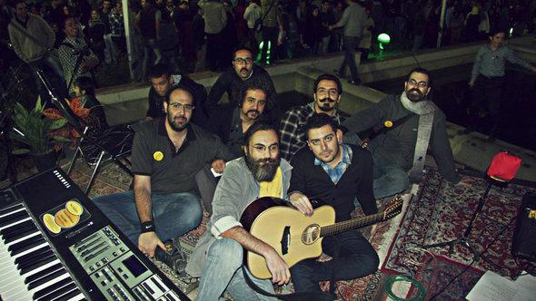 Die iranische Rockband Nioosh Band; Foto: © Nioosh Band