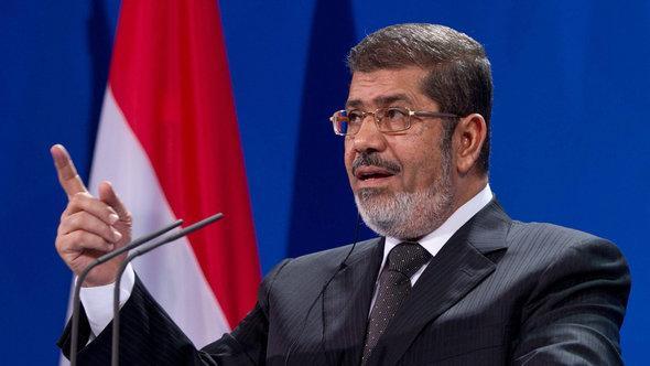 Ägyptens Präsident Mohammed Mursi; Foto: Imago