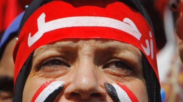 Anti-Mursi-Demonstrant in Kairo; Foto: AP
