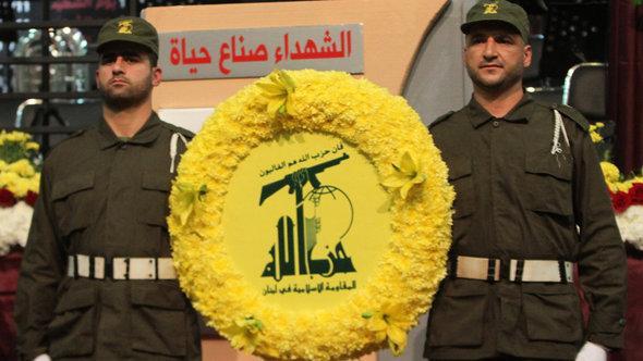 Parade der Hisbollah in Beirut; Foto: Anwar Amro/AFP/Getty Images