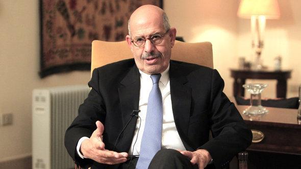 Mohammed ElBaradei; Foto: Reuters