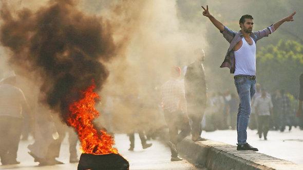 Anhänger des entmachteten Präsidenten Mursi protestieren in Kairo; Foto: Getty Images