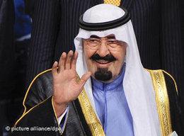 Saudi-Arabia's King Abdullah (photo: picture-alliance/dpa)