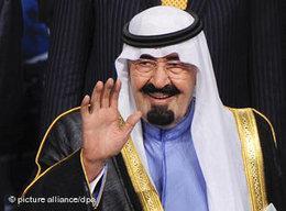 Der saudische König Abdullah; Foto: © picture alliance/dpa