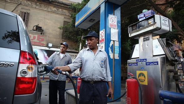 Tankstelle in Kairo; Foto: © Getty Images