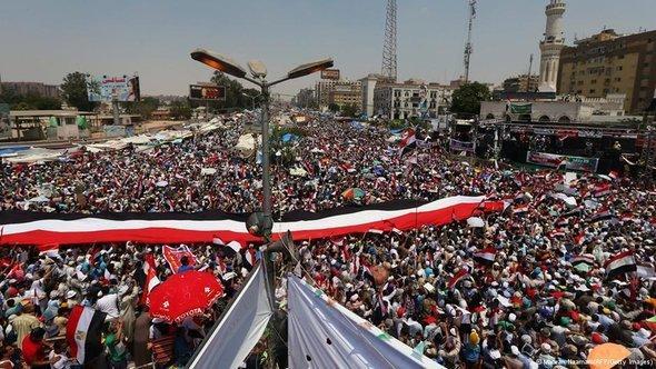 مظاهرة مناصرة لمرسي في القاهرة. أ ف ب   غيتي إميجيس