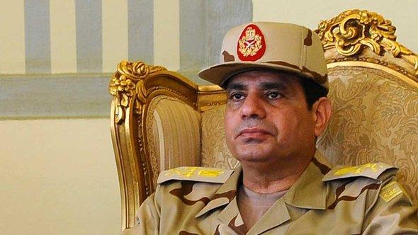 Ägyptens Verteidigungsminister und Armeechef Abdel Fattah al-Sisi; Foto: Reuters