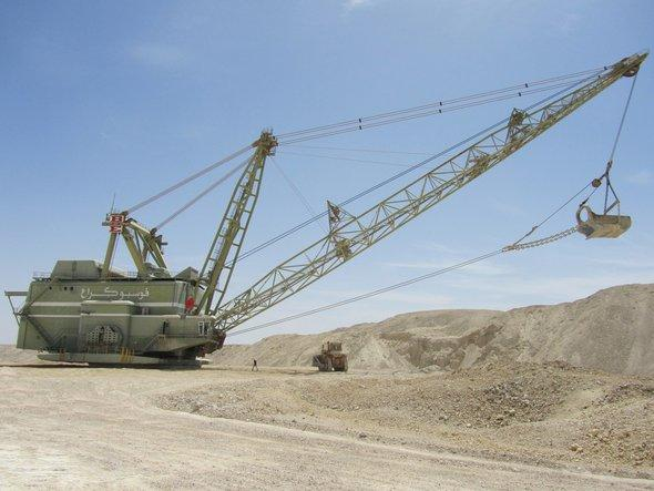 Phosphate mine near Boukraa (photo: Annett Hellwig)
