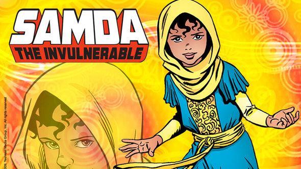 Samda die Unverwundbare; Foto: © Teshkeel Media Group