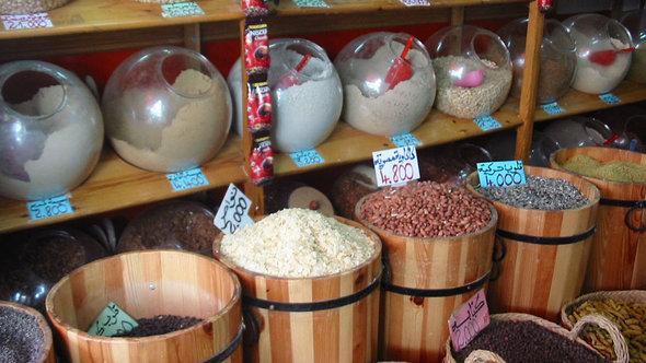 Arabischer Lebensmittelladen; Foto: © Ben Belgacem/DW