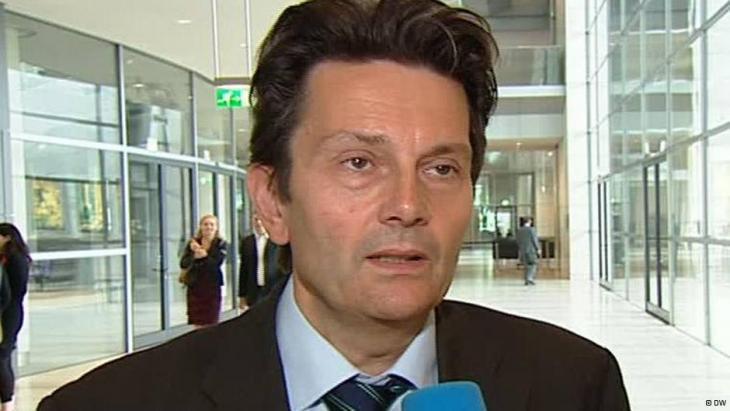 SPD-Außenexperte Rolf Mützenich; Foto: DW