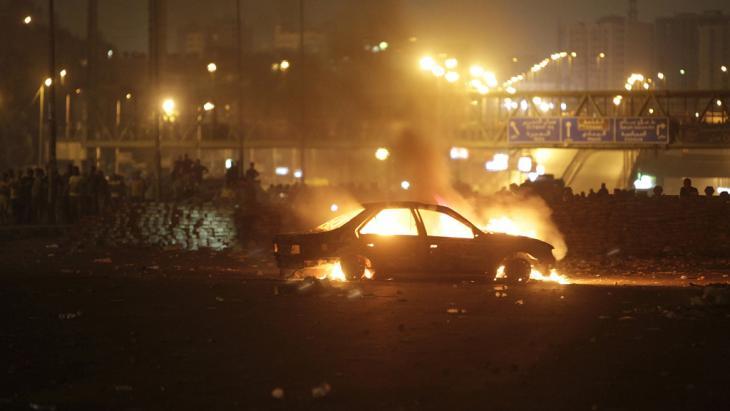 Straßenschlacht in Nasr City am 27. Juli 2013; Foto: Reuters